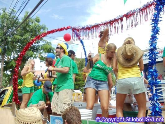 Tap Room Carnival Float 2010