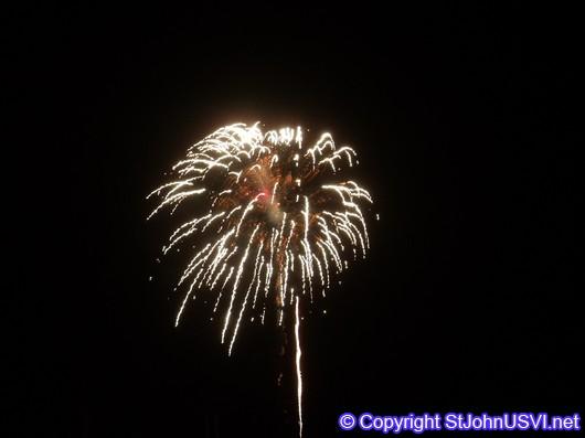 Gold Firework