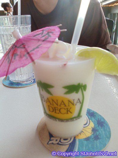 Lime n' Coconut at the Banana Deck