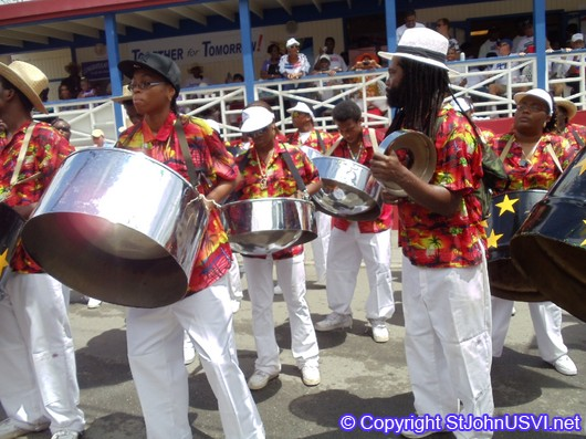 Performance from a Steel Drum Band