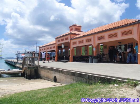 Ferry Dock, Cruz Bay
