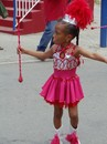 Young Performer from Charming Twirler Majorettes