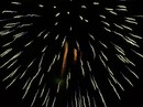 Large Blue Firework