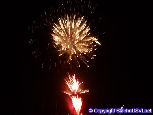 St. John Carnival Fireworks 2010