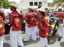 Steel Drum Band in Carnival Parade 2010