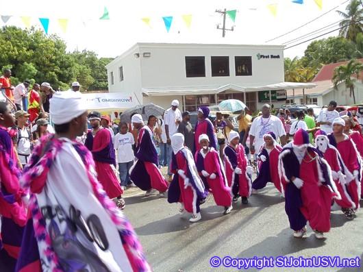 Group Dancing in Carnival 2010