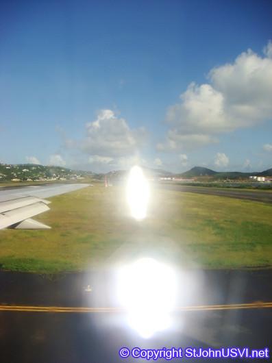 Runway on St. Thomas