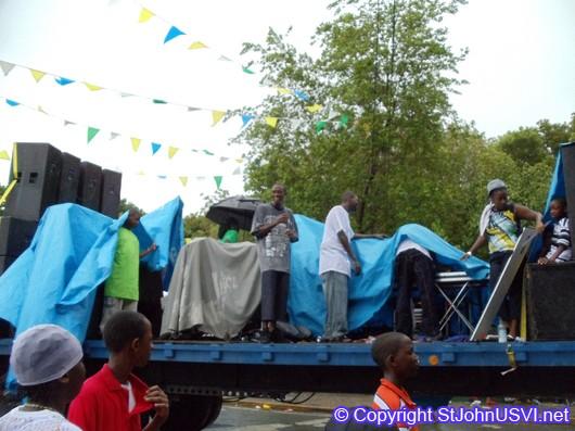 Rain Delay of Parade