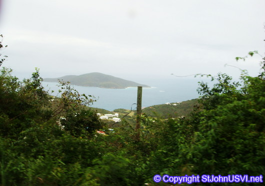 Driving through St Thomas