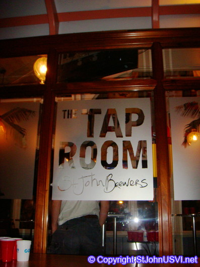 Tap Room, home of St John Brewers