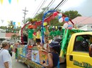 Front View of Float