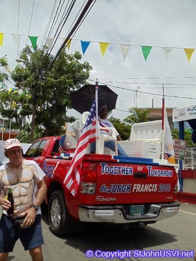deJong and Francis truck