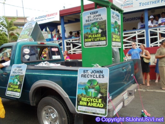 Recycle Truck for St. John