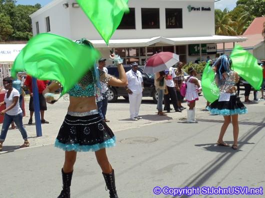 Flag Dancers