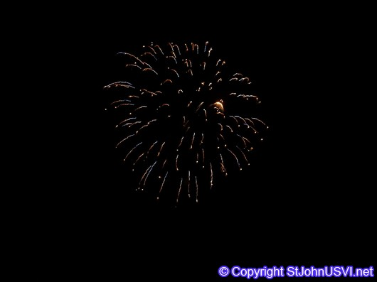 multi colored firework