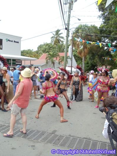 Dancers in Carnival Parade 2010