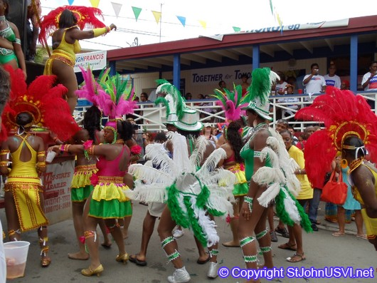 Carnival Troupe Performing