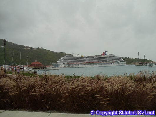 Carnival Dream in St. Thomas