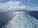 Ferry ride between Cruz Bay and Red Hook