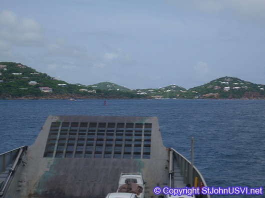 Ferry between Red Hook, St Thomas and Cruz Bay, St John