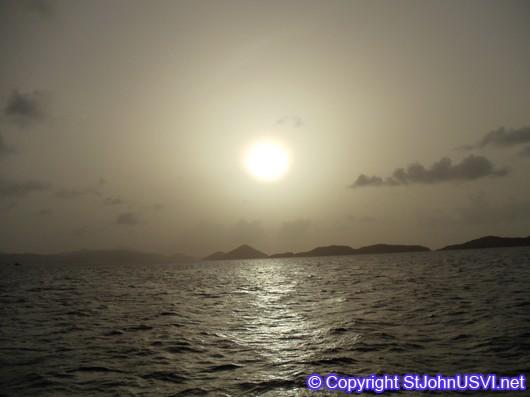 Sunset on a Sunset Sail
